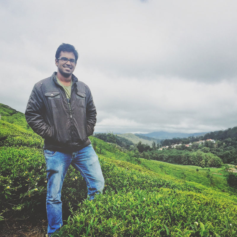 Pranav Prabhakar -CoFounder, MiStay